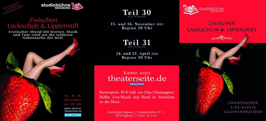 Studiobühne Siegburg - Zwischen Lackschuh und Lippenstift